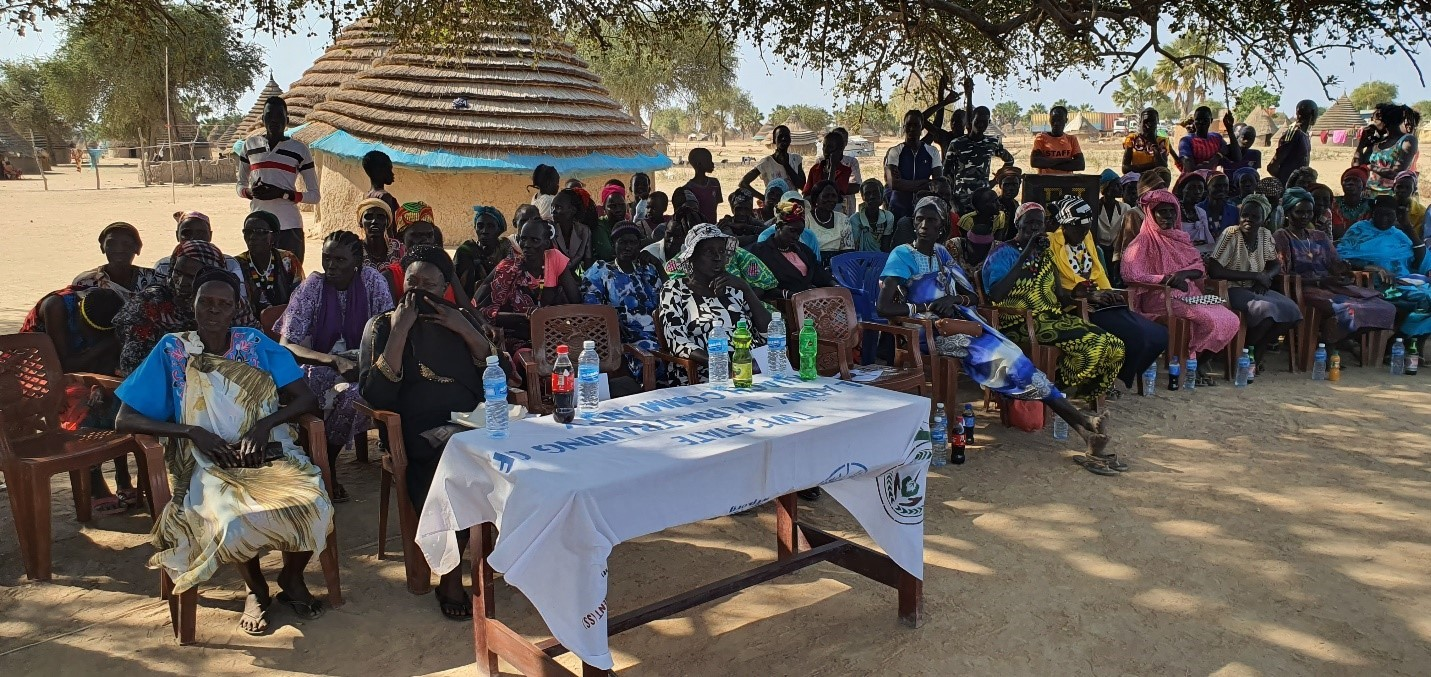 (RRP Head-Mrs Janice during Luaching in Wunrok/ 6-7/Feb/2020
