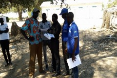 FAO MONITORING TEAM WITH MADA STAFF